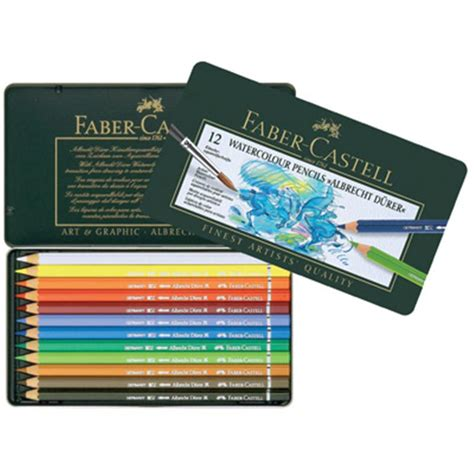 faber castell 12 watercolour pencils hobbycraft