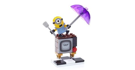 Mega Bloks Minions Silly Tv despicable me silly tv mega bloks