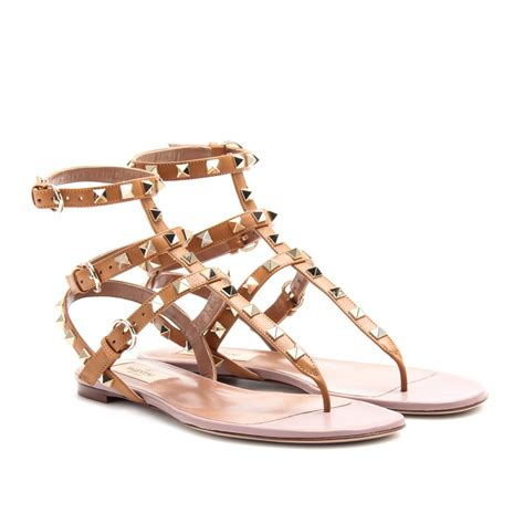 sandal valentino valentino rockstud leather sandals in lyst