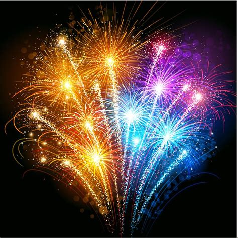 firework background gorgeous fireworks background vector free vector graphic