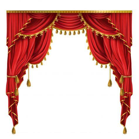 tende rosse tende rosse di lusso in stile vittoriano con drappeggio