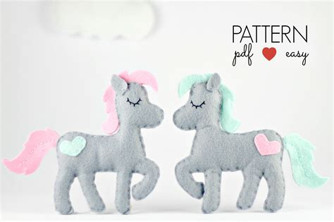 pattern for felt horse felt horse pattern horse sewing pattern horse ornament
