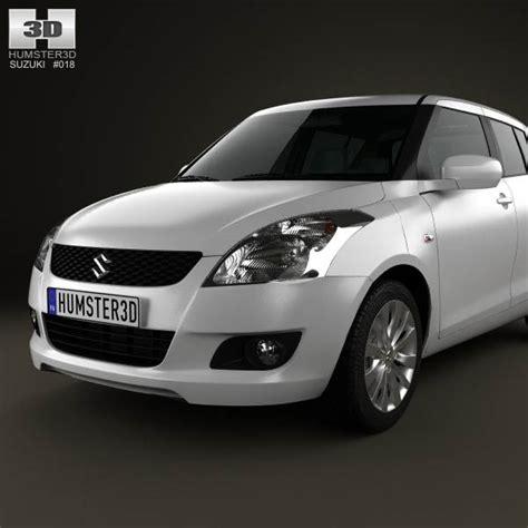Suzuki Hatchback Models Suzuki Hatchback 5 Door 2012 3d Model Hum3d