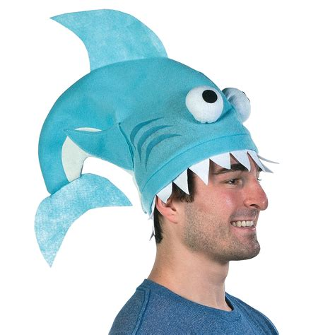 Shark Home Decor by Shark Fin Hat Novelty Hats Hats Caps Amp Bandanas