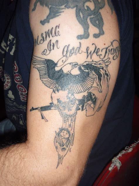 terminus tattoo semper megusta usmc