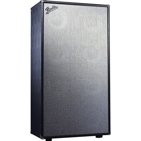 Fender Bassman Speaker Cabinet by Fender Bassman Pro 810 8x10 Neo Bass Speaker Cabinet Black