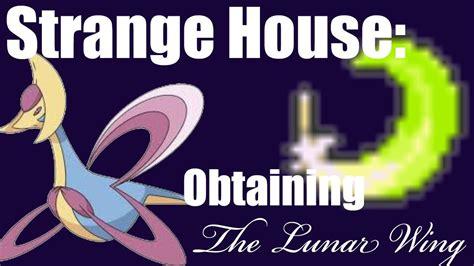 pokemon black 2 strange house pokemon black and white 2 strange house how to obtain the lunar wing youtube