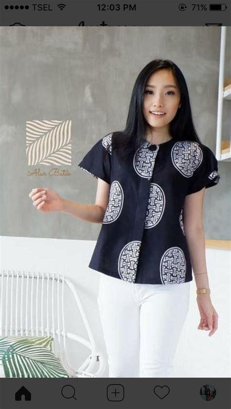 Atasan Top Blouse Set Kulot Motif Marbella Set 7566 best i batik images on clothing blouse and bridesmaids