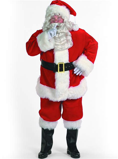 printable santa outfit costume babbo natale professionale funidelia