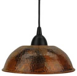 hammered copper pendant light hammered copper dome pendant light traditional