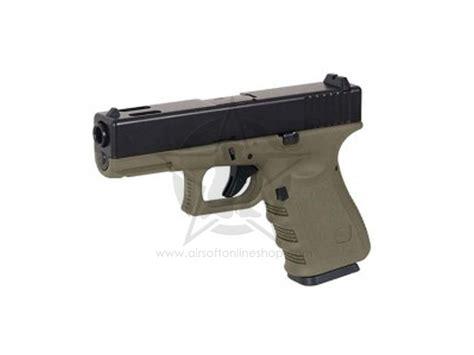 Airsoft Gun Glock kjw g23 ms gas metal slide glock gbb airsoft pistol airsoft guns shop airsoft shop