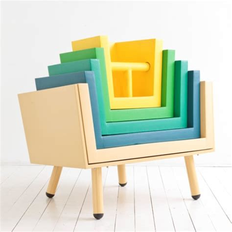 armchair for children functional stackable chairs for your children digsdigs