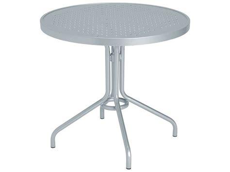 Tropitone Patio Table Tropitone Boulevard Aluminum 30 Metal Dining Table 30w X 30d X 27h 656sb
