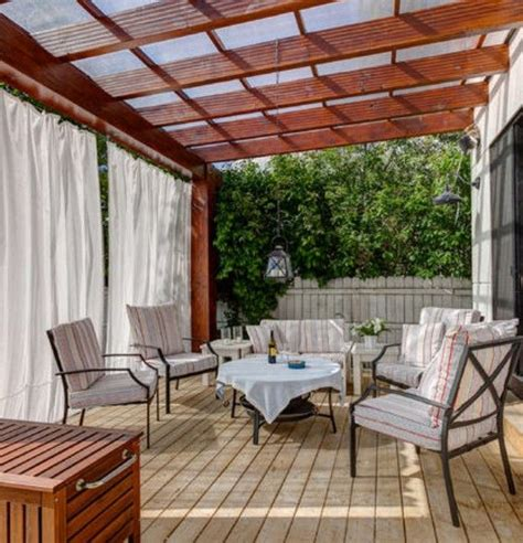 Pergola Roof Covering 25 Best Ideas About Covered Pergola Patio On