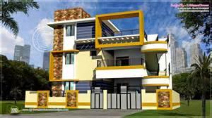 modern 3 floor tamilnadu house design kerala home design