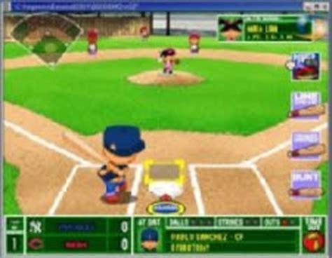 backyard baseball humongous entertainment games for lunch backyard baseball 2001