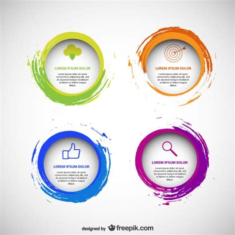 free circle business card templates circles vectors photos and psd files free