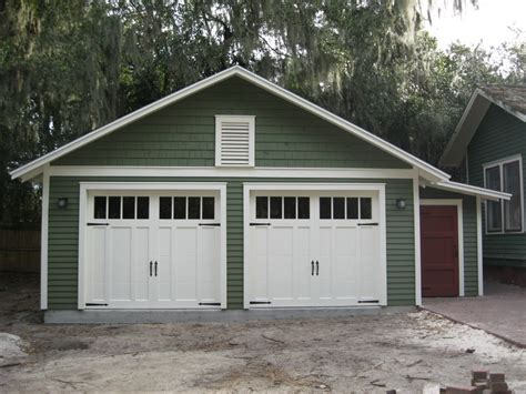 Custom Two Car Garage With Attached Workshop Garage Bungalow 2 Car Garage House Plans