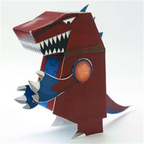 Origami Kaiju - 2bkaiju 2bhero 2bforce 2bpaper 2btoy 2bdemocules jpg