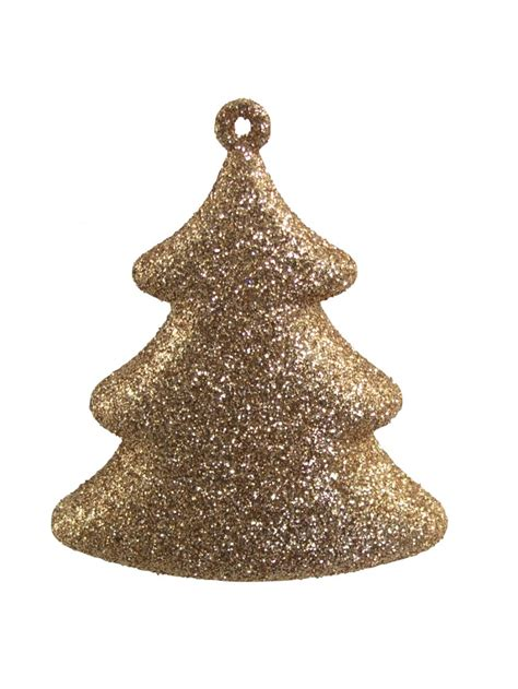 chocolate copper gold 3d tree hanging decoration 4 x