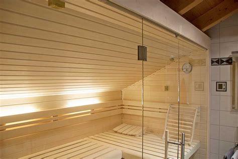 sauna zu hause 204 sauna unter einer dachschr 228 ge apart sauna ihre