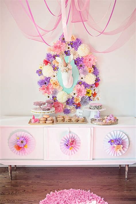unicorn themed birthday party whimsical unicorn themed mini party magestical magicness