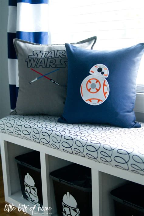 Wars Pillow by One Room Challenge Big Boy Room Progress Wars Pillows
