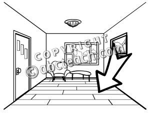 Floor Coloring Pages clip basic words floor coloring page abcteach