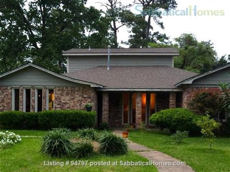 sabbaticalhomes houston united states of
