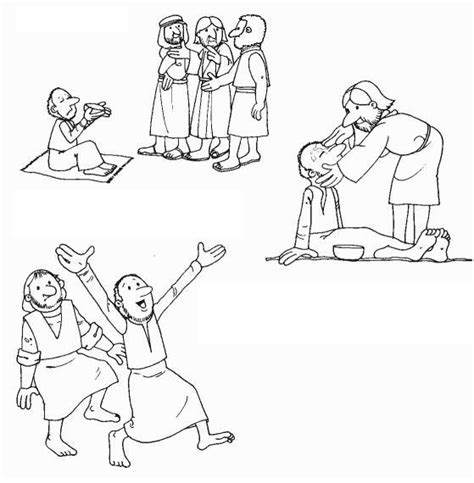 Blind Bartimeus Bartimeus Coloring Pages