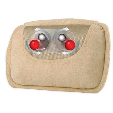 cuscino homedics cuscino massaggiante homedics guida shop