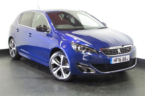 used 2016 peugeot 308 1 2 puretech 130 gt line s s for