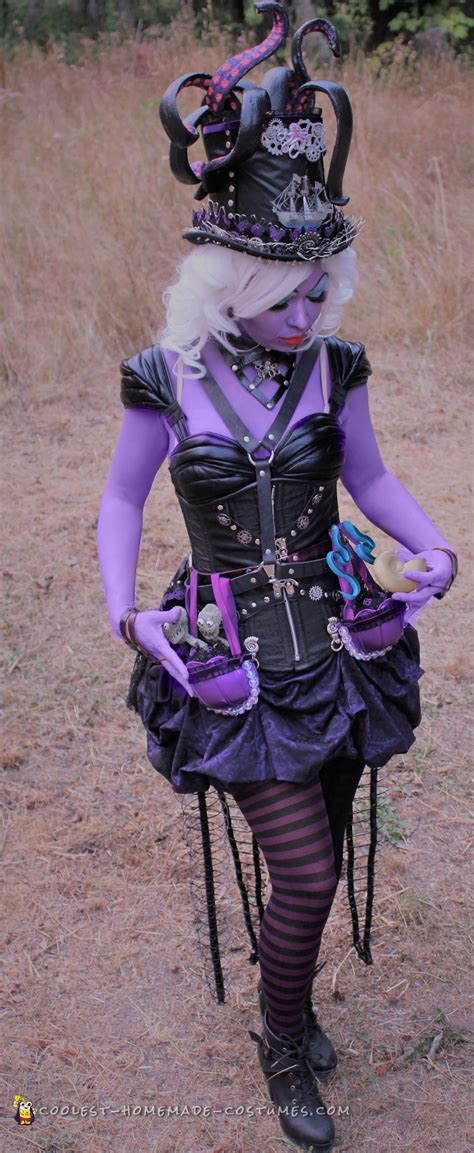 awesome diy steampunk ursula costume  making waves