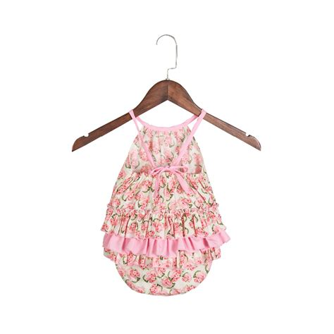 new summer style vintage romper baby boutique