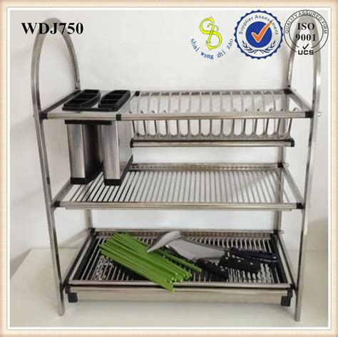 Wall Dish Drying Rack by Professional Wall Amount Steel Dish Drainer Wall Hanging