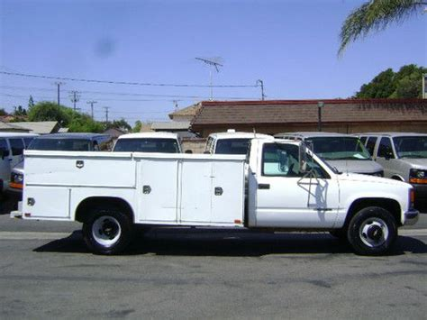 find used 1997 chevy c3500 utility truck service body