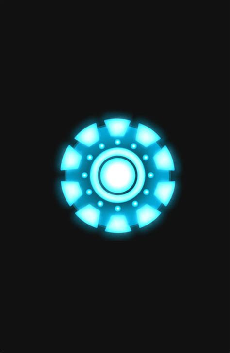 iron man arc reactor wallpaper wallpapersafari