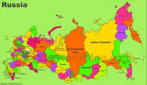map of russia administrative divisions map of russia
