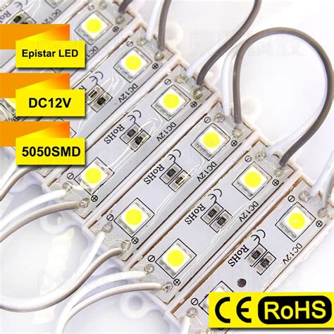 Led Modul Smd 5050 Waterproof 6ledstrip Isi 10 smd 5050 led module lights dc12v waterproof ip65 green blue white yellow 1000pcs lot 2 leds