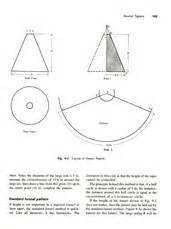 sheet metal cone template cone template calculator design images