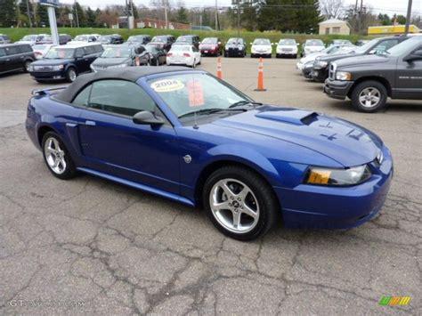 blue 2004 mustang sonic blue metallic 2004 ford mustang gt convertible