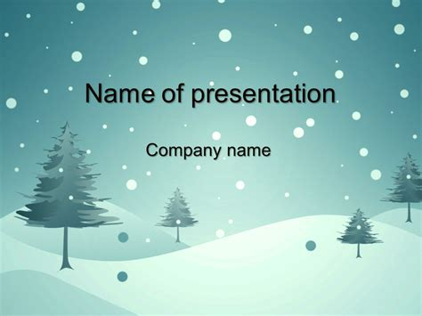 free powerpoint templates 2014 blue winter powerpoint template