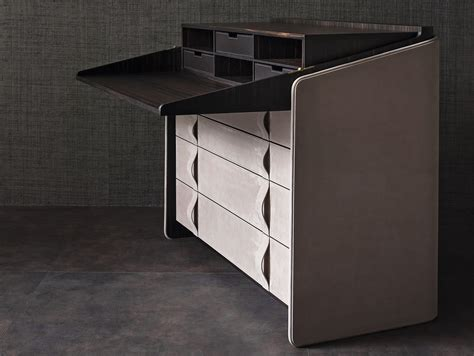 chest of drawers desk gentleman secretary desk by flou design carlo colombo