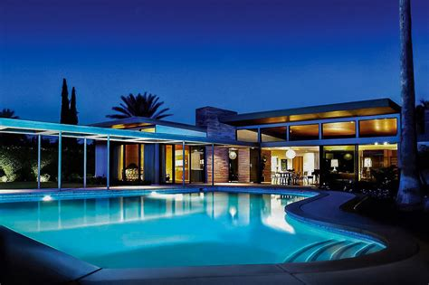 Vacation Homes For Rent In Vegas - twin palms sinatra estate luxury retreats
