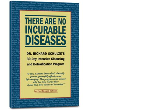 Dr Schulze 30 Day Detox Book by Incurables Program Dr Schulze Dr Schulze