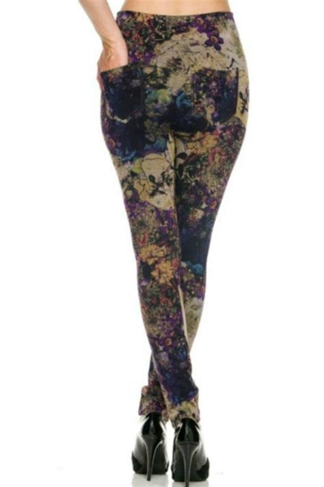Legging Cottonrich Tight 4in1 fancy usa vintage floral legging from ohio by s boutique shoptiques