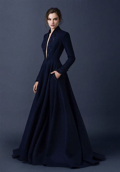 Navy Blue Wedding Dresses that You Will Love   Arabia Weddings