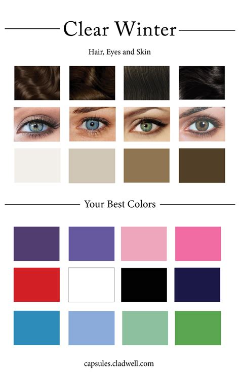 winter color palette how to create your personal color palette plus take our
