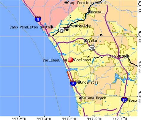 carlsbad california ca profile population maps real