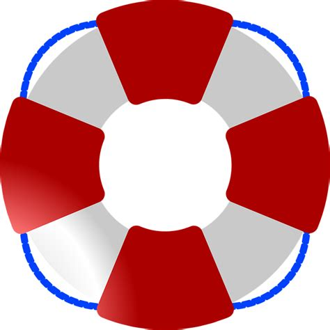 lifeguard boat clipart lifesaver ring rescue 183 free vector graphic on pixabay